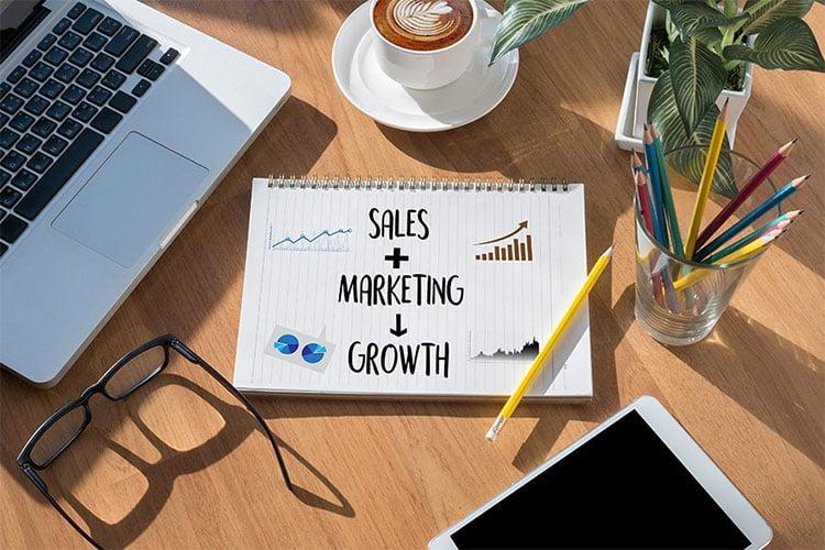 نهایت استفاده از تلاشهای تیم بازاریابی و فروش