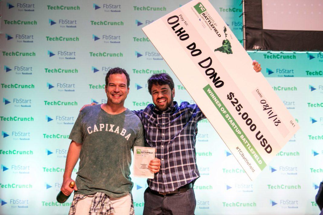 استارتاپ olho do dono برنده میدان جنگ استارتاپی آمریکای لاتین