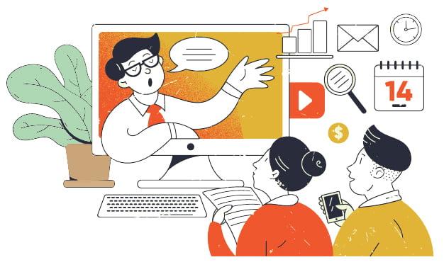 وبینار چیست؟ چگونه از وبینار در بازاریابی استفاده کنیم؟