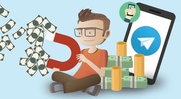 6 ایده ناب و پولساز برای شروع کسب درآمد از تلگرام